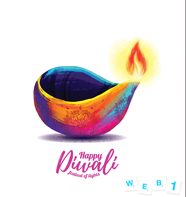Diwali Wishes from Web1